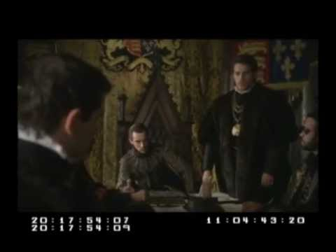 Henry Cavill - The Tudors Bloopers