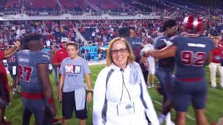 Wild Post-Game Scene As FAU Defeats FIU 52-24 and Claims Shula Bowl Trophy