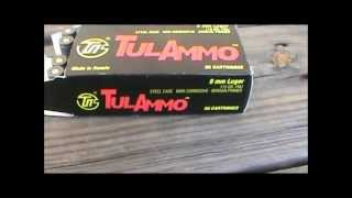 Tulammo review 9mm FMJ 115gr