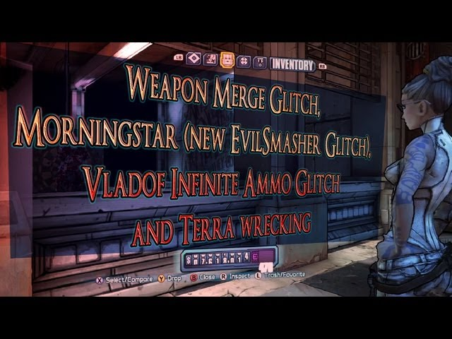 BL2 Weapon Merge, Vladof Infinite Ammo and Morningstar Glitch (new EvilSmasher)