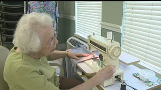 Shepherd of the Valley resident uses sewing skills to help children in need