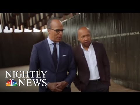 Bryan Stevenson, Lester Holt Revisit A Painful Past To Create A Better Future | NBC Nightly News