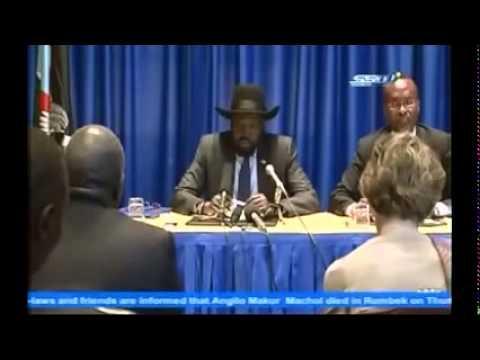 Salva Kiir visit to America - زيارة الرئيس سلفاكير لأميركا - استقبال جماهيري كبير