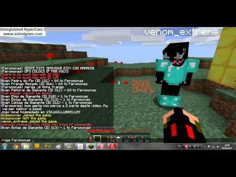 Minecraft - Sobrevivente ou Não?! Feromonas e Venom!