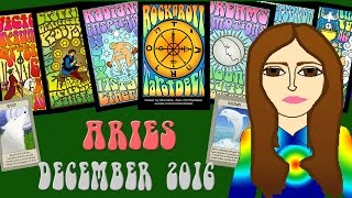 ARIES DECEMBER 2016 Tarot psychic reading forecast predictions free