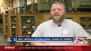 Bill would allow legal guns at parks