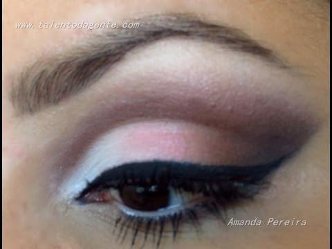 Maquiagem fofa e delicada - Por Amanda Pereira