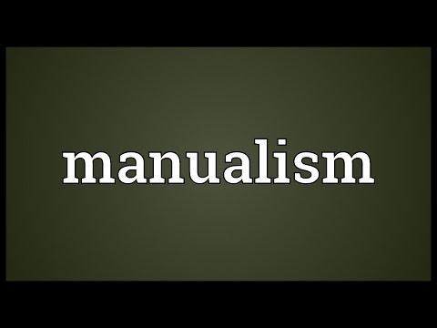 Header of manualism