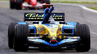 FORMULA 1 2005 Season Highlights - Alonso vs. Kimi, Renault vs. McLaren