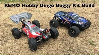Banggood REMO Hobby Dingo Buggy Kit Build
