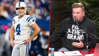 Pat McAfee Reacts To Colts Claiming New Kicker