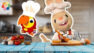 Speaking English Words - The Chef  | Harry & Larry Stories For Kids | Learning From Baby First TV