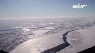 (VTC14)_ Lo âu với tảng băng trôi 1000 tỷ tấn tách ra từ Nam cực