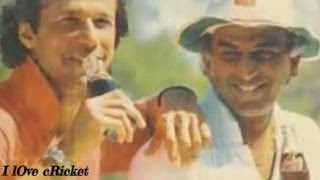 India -Pakistan Friendship Moments in Cricket ( We are Not Enemies)