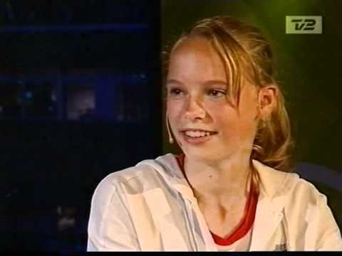 Wozniacki interview Wimbledon 2004 - slightly longer