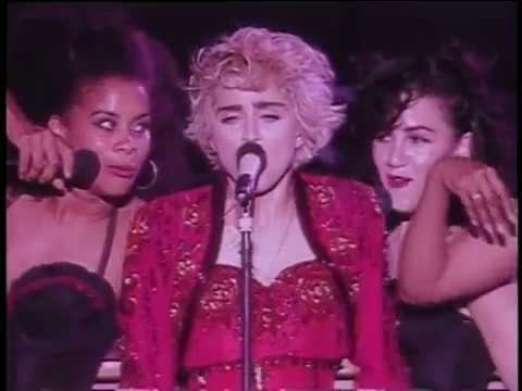 Madonna - La Isla Bonita (live In Concert Ciao Italia).hd video