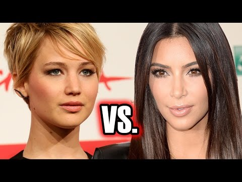 Kim Kardashian vs Jennifer Lawrence - Most Searched of 2014?