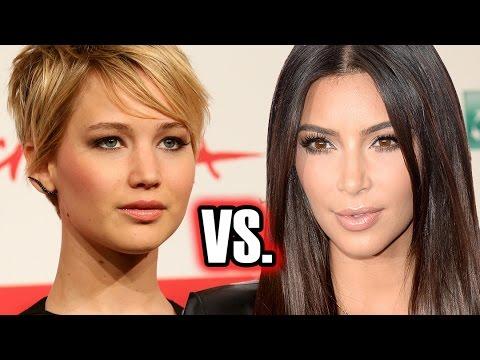 Kim Kardashian vs Jennifer Lawrence - Most Searched of 2014?