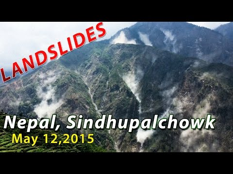 Landslides in Nepal, Sindhupalchowk - May 12 2015