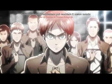 Attack on Titan - Shingeki no kyojin sigla sub ita