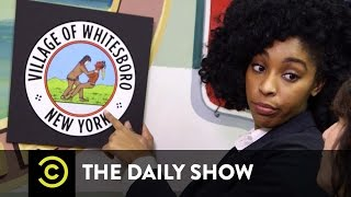 Wrestling with History in Whitesboro, NY: The Daily Show