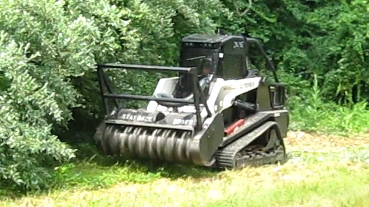 Terex Forestry Mulcher Mower Land Clearing In Va By Jr
