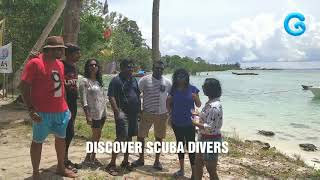 Guys sharing their wonderful  Diving experience with #gypsydivers
