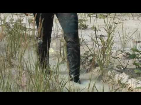Wet and Muddy High Leather Boots.flv