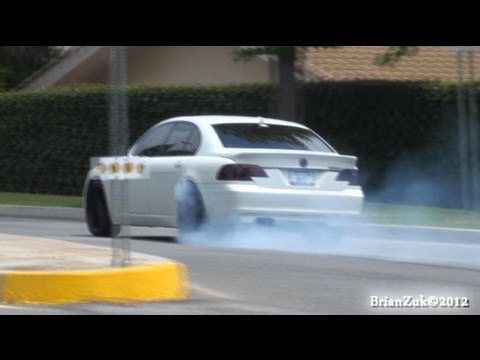 Alpina B7 Acceleration and Wheel Spin