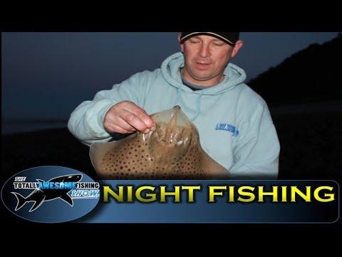 Beach fishing tips at night - TAFishing Show