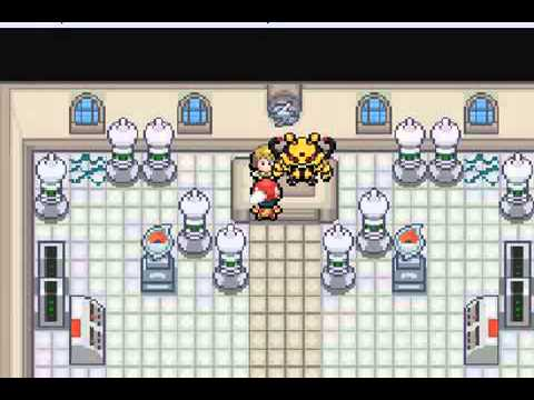 Pokemon Light Platinum Walkthrough Part 21 Electric Gym