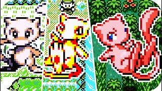 Evolution of Mythical Pokemon Mew Battles (1996 - 2018)