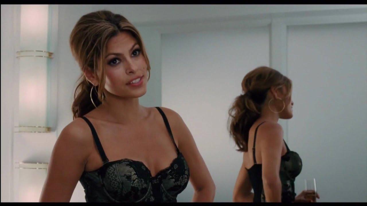 eva mendes sexy lingerie