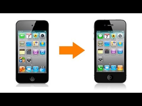 iPod Touch 4G into iPhone 4 Tutorial iOS 4.1