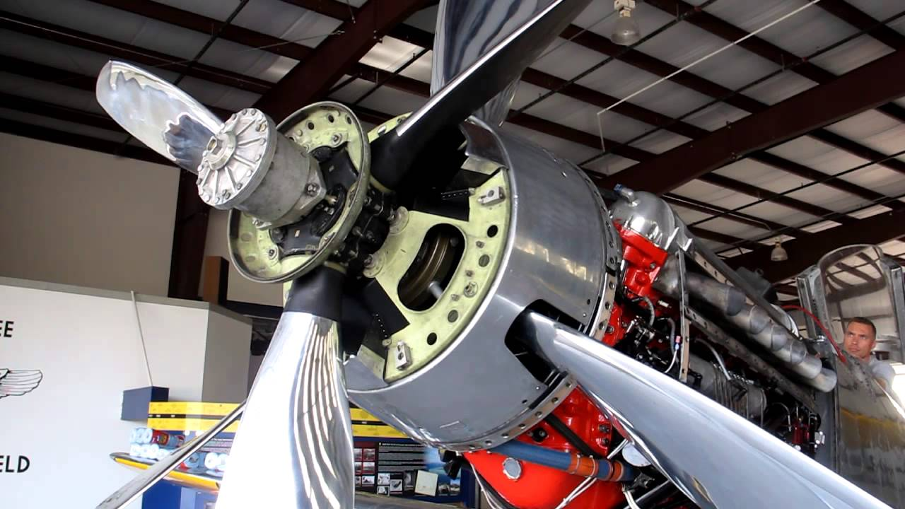 P 51 Precious Metal Feathering Propeller Youtube