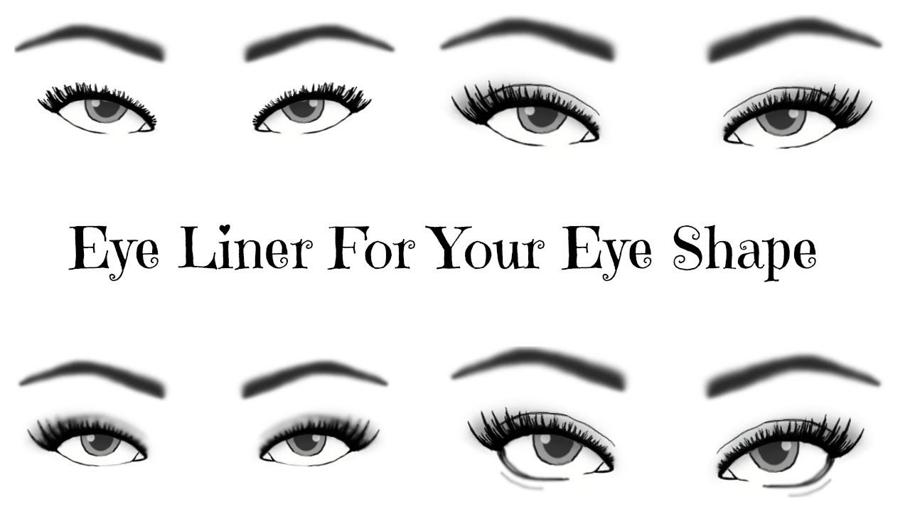 Eyeliner styles for eye shape