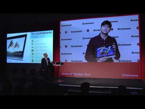 Ashton Unveils His 2nd Baby: Lenovo YOGA Tablet 2 Pro