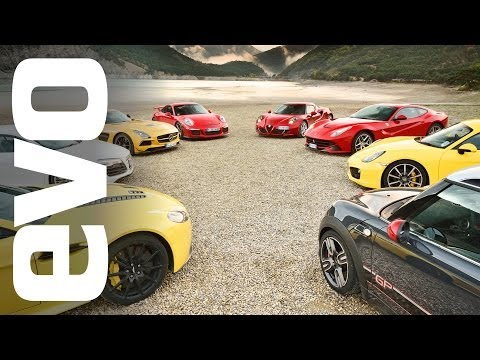 evo Choses Their Car of the Year, Highlighted by Porsche, Ferrari and Mercedes