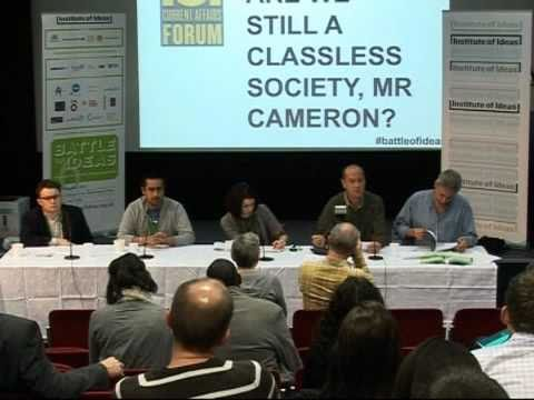 Are we still a classless society Mr Cameron?