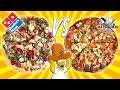 DOMINO'S PIZZA VS HOMEMADE - Spy Cam and Blind Taste Test Challenge!