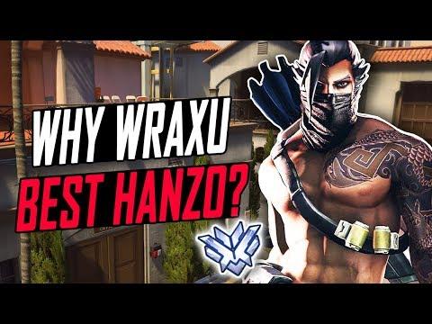 WHY WRAXU BEST HANZO? 50 KILLS! [ OVERWATCH SEASON 6 TOP 500 ]