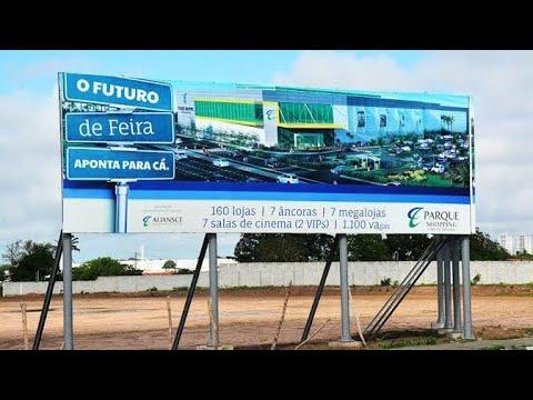 FUTURO LOCAL DO FEIRA PARQUE SHOPPING EM FEIRA DE SANTANA BAHIA