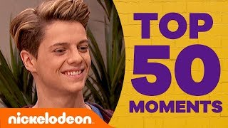 Jace Norman's TOP 50 Moments! Ft. Henry Danger, The Thundermans, & More! | #NickStarsIRL