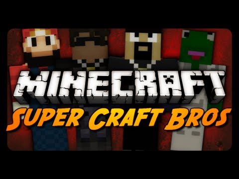 Minecraft: ULTIMATE SUPER CRAFT BROS. w/ AntVenom & Friends!