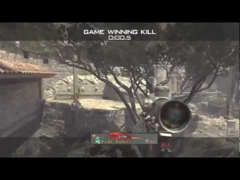 Trickshot Killcam On New DLC Map Sanctuary - EPIC MW3 MOMENTS #23