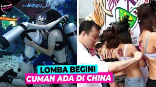 Bikin Lomba Sampe Segitunya! 10 Kontes Paling Aneh Yang Cuma Ada Di China