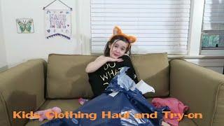Clothing Haul - Online shopping haul - Old Navy - ALV TV kids videos for kids