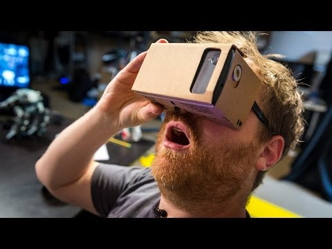 Hands-On with Google Cardboard Virtual Reality Kit