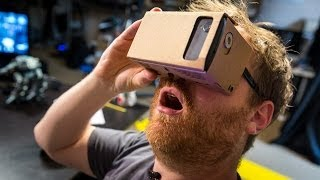 [Hands-On with Google Cardboard Virtual Reality Kit] Video