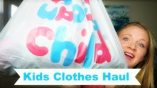 KIDS CLOTHING HAUL: CONSIGNMENT SHOPPING